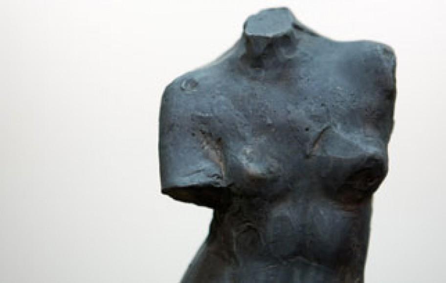 Detail of sculpture of Venus de Milo