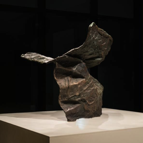 bronze sculpture of Winged Victory