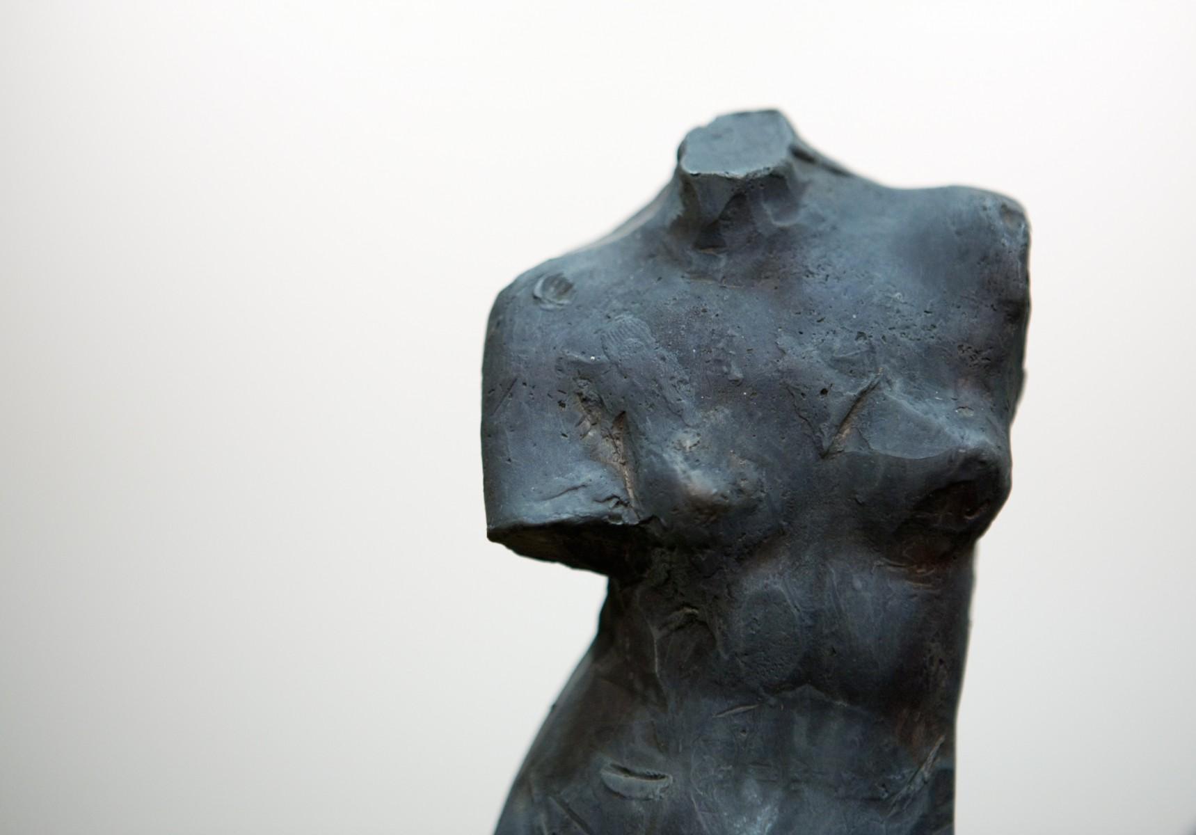Sculpture of a woman's torso