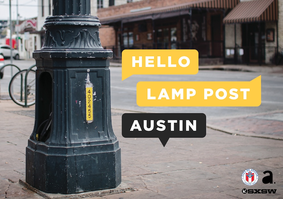 University of Texas Landmarks - Represents HelloLampPost Web Event