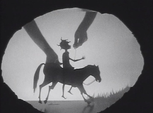 Video screenshot of Kara Walker film