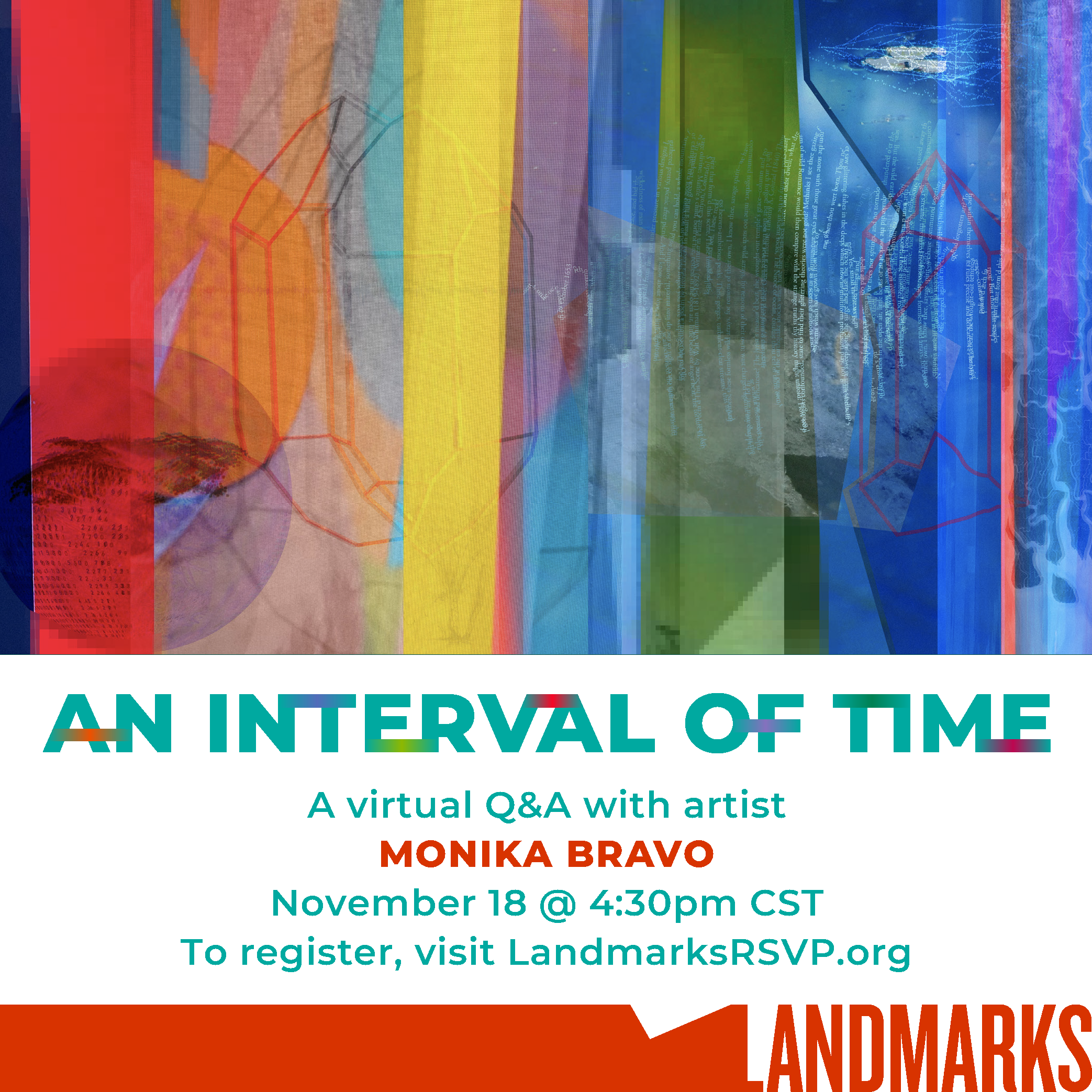 Celebrating An Interval of Time: A Virtual Q&A with Monika Bravo