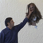 "Screenshot of Teresa Serrano's ""Lan Piñata"""