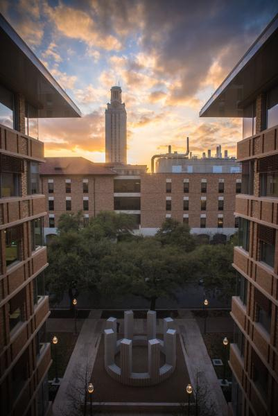 University of Texas Landmarks - Represents 04 LeWitt CircleWithTowers PhotoBySandyCarson%20copy?itok=P7VUHy4u