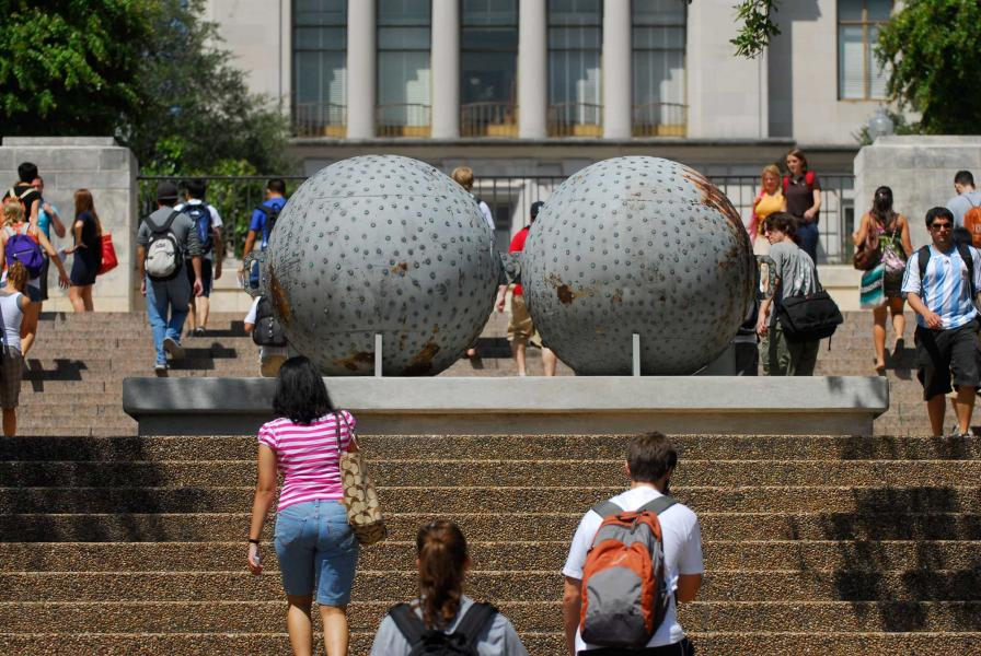University of Texas Landmarks - Represents 07 donald lipski the west photo by marsha miller?itok=2met8744