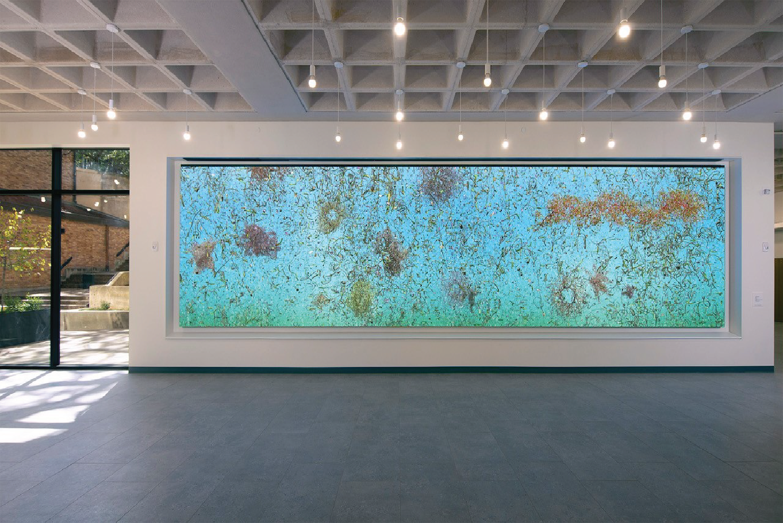 Video installation by Jennifer Steinkamp