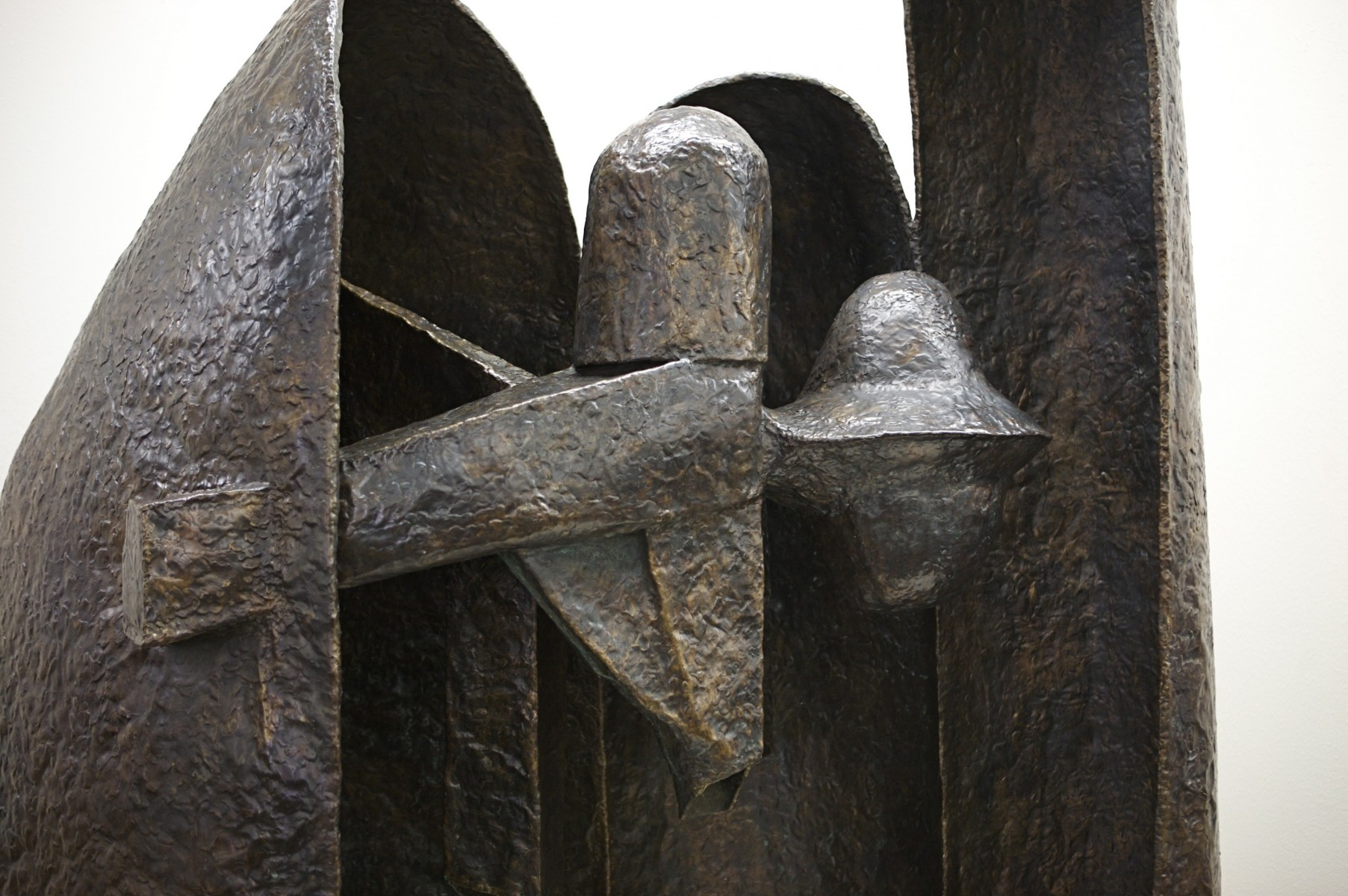 Close up of sculpture
